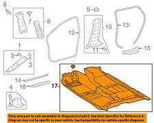 TOYOTA OEM 09-10 Matrix Interior-Carpet 5851002B10B1