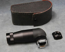 RIGHT ANGLE FINDER FOR SLR CAMERAS W/ROUND ADAPTER & CASE
