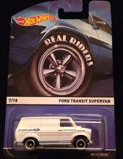 2015 Hot Wheels Heritage Real Riders Ford Transit Super Van #7/18