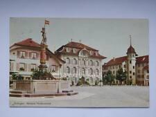 SVIZZERA SWISS Zofingen old postcard