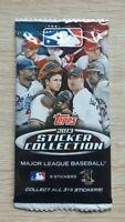 Topps 1 Tüte Baseball 2013 MLB 13 Bustina Pochette Packet Pack Sobre Panini