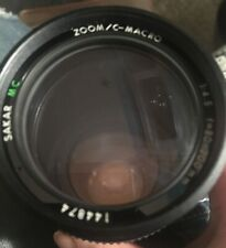 Used SAKAR MC Zoom/C-Macro 1:4.5, f=80-200mm Camera lens Japan 144874