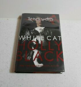 White Cat by Holly Black, SIGNED, 2nd Edition, HC / DJ, 2010