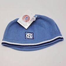 North Carolina Tar Heels Knit Beanie Cap Hat Skull Drew Pearson Cotton