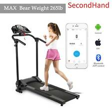 Secondhand Folding Treadmill Electric Support Motorized Power Running Fitness