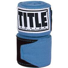 "Title Boxing 180"" Semi Elastic Mexican Handwraps - Columbia Blue"