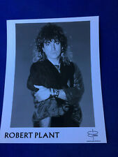 "8"" X 10"" vintage Photo music Robert Plant atlantic recording corp. Saranza"
