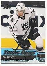 Nic Dowd 16-17 Upper Deck 1 Young Guns Rookie Card SP