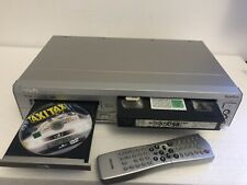 PHILIPS DVD740 VHS VIDEORECORDER / DVD PLAYER mit Fernbedienung