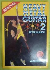 Heavy Metal Guitar II 2 Special DE Lehrbuch Gitarrenbuch Peter Bursch