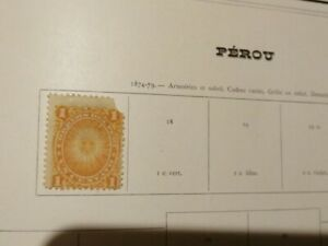 PERU/PERùcollection of values used from the early years,complete and non-compl5