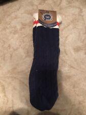 Sir Woolly Sock Co Faux Fur Slipper Socks  Knit Solid Womens Pattern NWT
