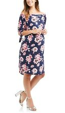 Whoa, Wait Maternity Off The Shoulder Dress with Tie Sleeves Size XL 16-18