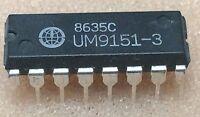1 pc. UM9151-3   UMC   DMTF TELEFON DIALER-IC  DIP16  NOS  #BP