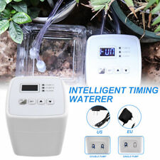Drip Irrigation Set Automatic Watering System Timed Water Indoor Garden Plant Q