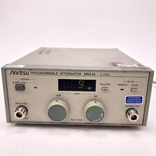 Anritsu MN63A Programmable Attenuator 0-2GHz #1
