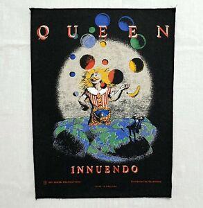 QUEEN INNUENDO 1991 back patch