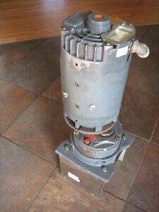 Used Boston Gear 10:1 Gear Reducer - 200 Series Opitmount w/motor 6-212045-01