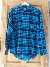 GAP Lumberjack Shirt 100% Cotton Men's Brushed Cotton Check Shirt Large L/G Bnwt
