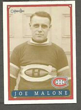 1993 OPC Fanfest Puck Canadiens' 1st Scoring Champion, Joe Malone, Card #55