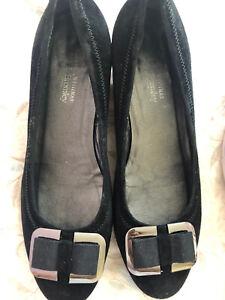 Russell & Bromley Stuart Weitzman Women's Black Shoes Size UK 6