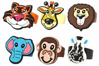 6 Jungle Rings - Animal Finger Pinata Loot/Party Bag Fillers Wedding