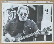 "Original Grateful Dead ""Year At A Glance"" Photo Set List from 1988 Garcia"