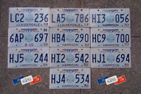 10 MISSISSIPPI GUITAR GRAPHIC LICENSE PLATES TAGS DECOR BULK SET LOT ART MUSIC