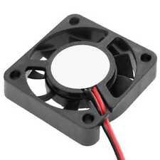 Ventilador Refrigerador del Ordenador de la CPU 12 V JST 2 Pin 40x40x10 mm Negro