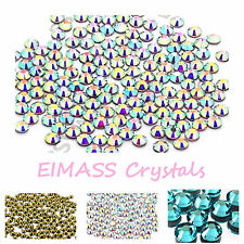1440 x EIMASS® 7767 Hotfix Low Price Premium DMC Glass Crystals, Flat back Gems