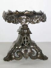 08B43 ANCIENNE COUPE VIDE POCHE RÉGULE ART NOUVEAU SUPPORT LAMPE A PÉTROLE XIXe