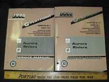 1996 GM Oldsmobile Aurora / Buick Riviera Shop Manual