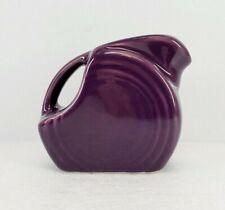 MINI DISK PITCHER creamer Mulberry purple  NEW FIESTA  5 OZ.