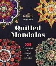 Quilled Mandalas by Alli Bartkowski (2016, Paperback)