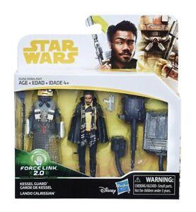 Star Wars Force Link 2.0 Solo 2 Figure Pack- Kessel Guard & Lando Calrissian NEW
