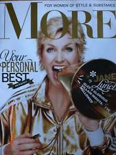 JANE LYNCH  'GLEE'  November 2010 MORE Magazine
