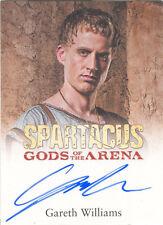 """Spartacus Gods of the Arena - Gareth Williams """"Vettius"""" Autograph Card"""