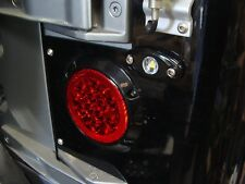 "2001 4"" Jeep TJ Wrangler Surface Mount LED Tail Light with Backups and Flasher"