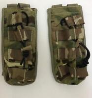 2 x British army surplus MTP SA80 single ammo pouch G1 Osprey - Elastic