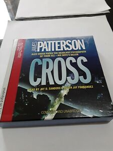 Audiobook Cd.       CROSS   by James Patterson.  UNABRIDGED.