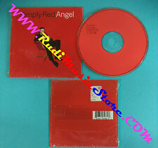 CD Singolo Simply Red Angel  0630-16986-9 EUROPE 1996 CARDSLEEVE no lp mc(S28)
