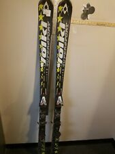 Volkl Supersport Skis With Bindings Marker Motion At Sized 182cm