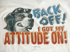 Vtg Big Dogs ATTITUDE Wayfarer T Shirt Mens XL Santa Barbara
