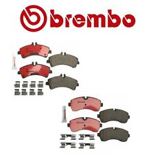 Dodge Freightliner Mercedes Front+Rear Brake Pad Sets Brake Kit Brembo OEM