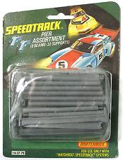 1977 Matchbox Slot Car SPEED TRACK Bridge BEAM SUPPORTS PIER ASST 14-3739 MOC A+