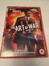 The Art Of War 2 - Betrayal (DVD, 2011) welsey snipes, region 2 uk dvd
