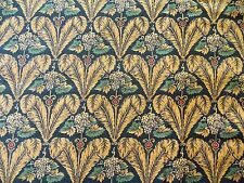 WtW Fabric Matters of the Heart England SSI Art Deco Feather Floral BTY Quilt