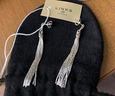 Links of London silver Tassel earrings New