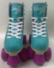 Candi Girl Womens Roller Derby Sabina Skates  Aqua And Pink Size US 5