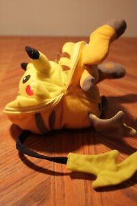Pikachu-Raichu Reversible Plush ULTRA RARE Pokemon 1999 KFC EXCELLENT CONDITION